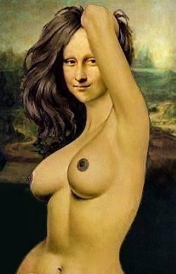 Mona Liza Pics