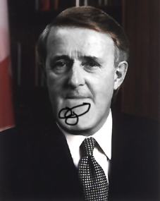 "Brian ""PenisChin"" Mulroney"