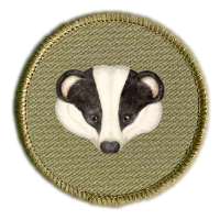 Badger badge.png