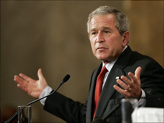Sources say this isn't the first time Bush has been unsure of something.