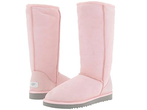 tall pink uggs