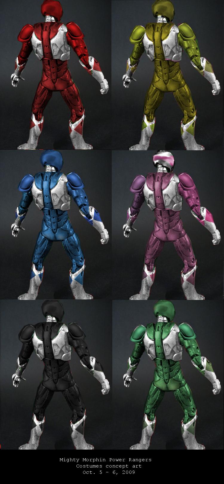 Power Ranger Costumes For Kid