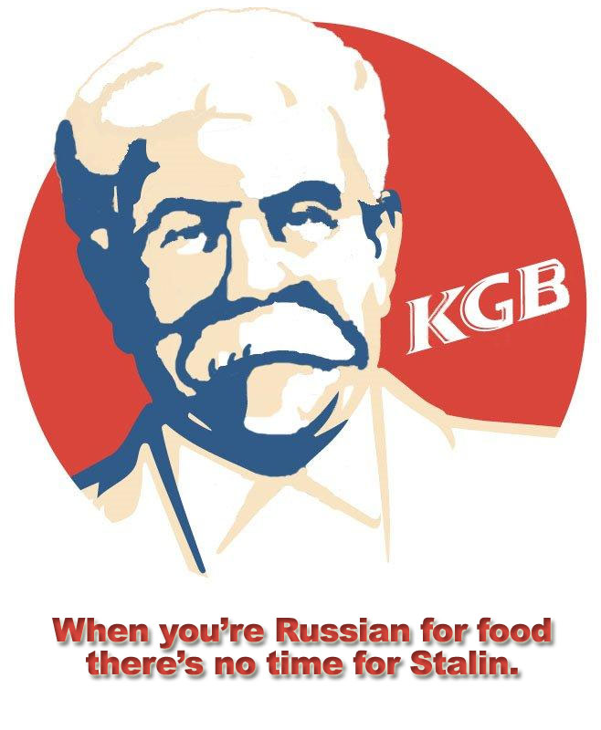 KGB - Uncyclopedia, the content-free encyclopedia