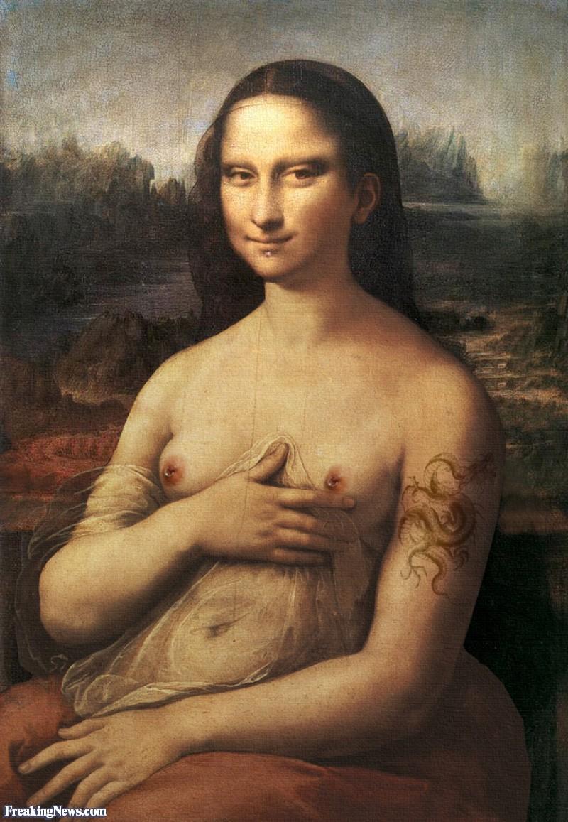 monalisa nude porn photos