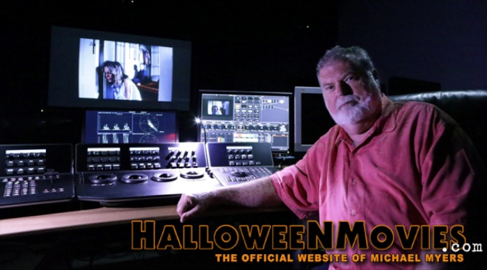 Dean Cundey hard at work on Halloween 35th Anniversary Edition Blu-ray.