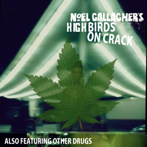 The cover of Noel Gallagher's first album.