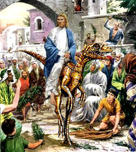 Jesus On Raptor