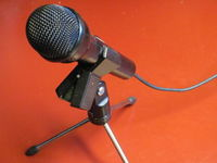 Microphone on stand.JPG