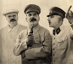 Molotov, Stalin and Voroshilov, 1937.jpg