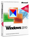 Windows 2010's original packaging design.