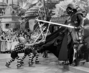 Darth Vader Versus Lollipop Guild