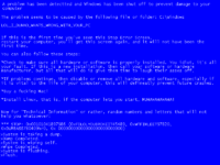 Blue Screen of Death - Uncyclopedia, the content-free encyclopedia