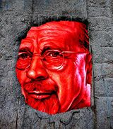 Walter Ulbricht watches you from a hole of the Berlin Wall.jpg