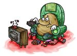 Is it cannibalism if a couch potato eats crisps?