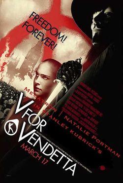 V For Vendetta Movie Poster V for Vendetta - Uncyc...
