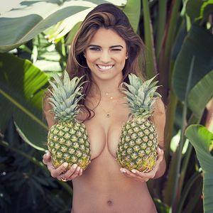 Love when semen sperm pineapple fruit beautiful face! Would