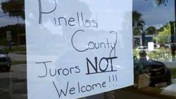 No jurors allowed sign.jpg