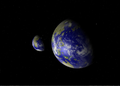 Earthlike double (binary) extrasolar planets.png