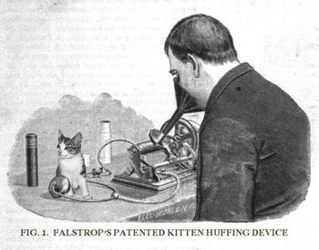 Falstrop's Amazing Kitten Huffing Device