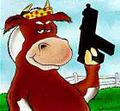 Cow with gun.JPG